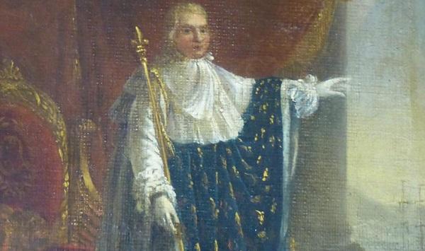 Людовик XVIII в 1814 году.