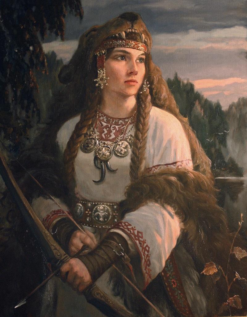 Поляницы: Девы-воительницы